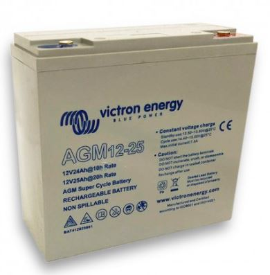 Victron Energy 12V/25Ah AGM  baterie Super Cycle (M5)