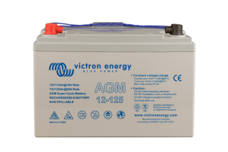 Victron Energy 12V/125Ah AGM  baterie Super Cycle (M8)
